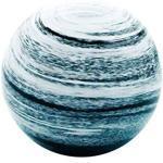 Traumkugel Glaskugel Kugel Paperweight Briefbeschwerer Dekokugel medium Hurrikan