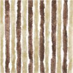 Travellife Chenille Türvorhang, 56 x 185 cm, braun/beige