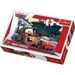 Trefl 18137 - Puzzle, Disney Cars, An der Tankstelle, 30 Teile