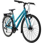 Trekkingrad Damen 28'' Antero Trekkingräder, Rahmenhöhe: 48 cm blau