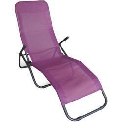 TrendLine Relaxliege Textilenbespannung, brombeer (GLO691100968)