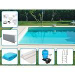 TRENDSTONE Pool Systembecken-Set EPS 40 700x350x150 cm mit Leiter