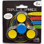 Triple-A Fidget Spinner mit Chromlager - schwarz