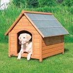 Trixie Hundehütte Natura Cottage, M - L: 83 × 87 × 101 cm