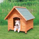 Trixie Hundehütte Natura Cottage, S-M: 71 × 77 × 76 cm