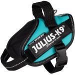 Trixie - Julius-K9® IDC® Powergeschirr® Größe Mini, 49-67 cm x 22 mm petrol