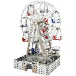 Tronico 10132 - Metallbaukasten Riesenrad mit Solarzellenantrieb, Profi Serie, Maßstab 1:16, 1042-teilig