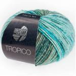 Tropico von Lana Grossa, Türkis/Petrol/Eisblau/Braun/Smaragd/Graugrün/Dunkelgrau