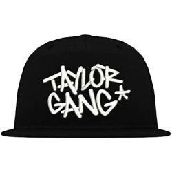 TRVPPY 5 Panel Snapback Trucker Mesh Cap Modell Taylor Gang Wiz Khalifa, Weiß-Schwarz