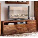 "TV Element II 180x60cm ""Indian Sunset"" Sheesham"