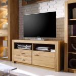 TV Unterschrank aus Asteiche hell geölt modern