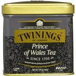Twinings Prince of Wales Sanfter Schwarztee Dose 100g, Der Tee entfaltet den fruchtigen Geschmack des Keemum-Tees und einen Hauch des blumigen Oolong-Tees. Black Tea 2er Pack (2 x 100 g)
