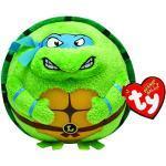 TY 7138255 - Teenage Mutant Ninja Turtles Ball - Leonardo, Durchmesser 12 cm, Beanie Ballz
