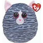 "Ty Squish-a-Boo's, ""Kiki"", Katze, ca 20cm, grau gestreift"