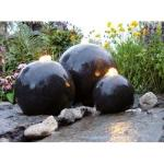 Ubbink AcquaArte London Gartenbrunnen Set LED Springbrunnen