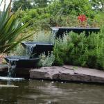Ubbink Garten Muschelbrunnen Wasserfall mit Pumpe