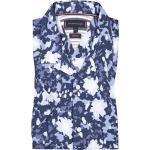 Übergröße : Tommy Hilfiger, Kurzarmhemd mit Muster, Regular Fit in Blau für Herren