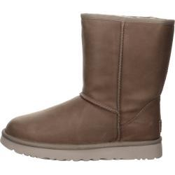 UGG Classic Short Leather Boots in beige 36