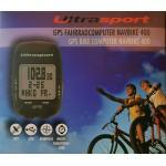 Ultrasport Fahrradcomputer » Fahrradcomputer GPS NavBike 400 Kompass USB Multifunktionsuhr Zeitzonen Datenübertragung per USB«, schwarz