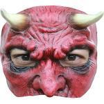 Unbekannt AEC–MAHAL600–Halbmaske Teufel aus Latex für Erwachsene