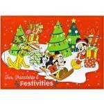 Undercover Adventskalender Minnie Mouse - ab 4 Jahren   Größe onesize