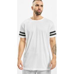 Urban Classics T-Shirt Männer Stripe Mesh in weiß