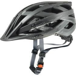 uvex Fahrradhelm i-vo cc schwarz-smoke matt