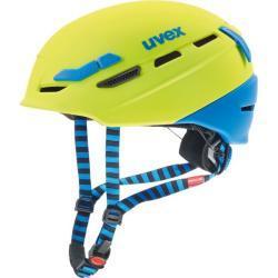 uvex Fahrradhelm p.8000 tour lime/blau