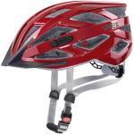 Uvex i-vo 3D . City Urban Fahrradhelme Erwachsene riot red, Gr. 52-57CM Gr. 52-57 cm (S4104290815)