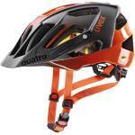uvex quatro cc MIPS MTB-Helm titan/orange mat 52-57