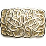 VaModa Gürtelschließe Wechselschließe Gürtelschnalle Buckle Modell 'Hearts of Fantasy Antiq Gold'