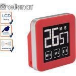 Velleman Digitaler Timer mit Touchscreen, Countdown Countup, Küchentimer Eieruhr Alarm