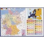 VELOFLEX Schreibtischunterlage Deutschlandkarte