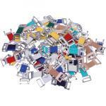 Verbandklammern Mix farbig sortiert 100 stk