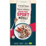 Verival Müsli, Sport-Müsli getreidefrei, grain free Mandel-Feige, glutenfrei (300 g)
