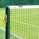 Vermont 12,8m Tennisnetze für doppeltes Tennis – geflochtenes HDPE Garn – ITF-genehmigt – in 5 Dicke und Gewichte erhältlich (2mm, 4kg)