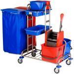 Vermop Variant 27 Reinigungswagen Edelstahl (Verpackungseinheit: 1 Stück)