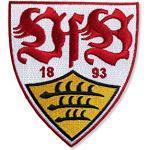 VfB Stuttgart Aufnäher Wappen ca 8 x 9 cm zum aufbügeln