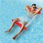 VFB Wasserhängematte mit Tragefunktion 119cm rot