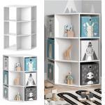 Vicco Kinderregal Eckregal Bücherregal Luigi weiß Spielzeugregal Aufbewahrung