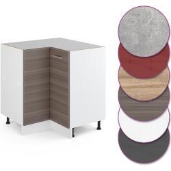 Vicco Küche R-Line Eckunterschrank 87 cm, verschiedene Farben