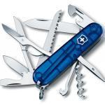 Victorinox Taschenmesser Huntsman blau Transparent