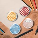 vidaXL Button-Set mit Anstecknadel 100 Stk. Acryl 25 mm