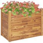 vidaXL Garten-Hochbeet 110 x 60 x 84 cm Massivholz Akazie