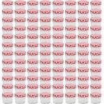 vidaXL Marmeladengläser mit Weißen/Roten Deckeln 96 Stk. 110 ml