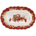 Villeroy & Boch Toy's Fantasy Schale oval groß Santa und Kinder (mehrfarbig)