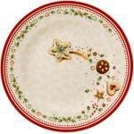Villeroy & Boch Winter Bakery Delight Frühstücksteller 21,5 cm (weiss)