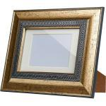 Vintage Bilderrahmen 10x15 cm Poly ¦ silber ¦ Kunststoff