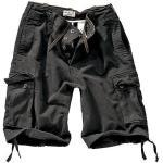 Vintage Shorts Washed schwarz XS