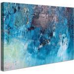 Visario Leinwandbild »1 teiliges Wandbild auf Leinwand 80 x 60 cm fertig auf Rahmen gespannt von «, abstrakt, 4012 - abstrakt